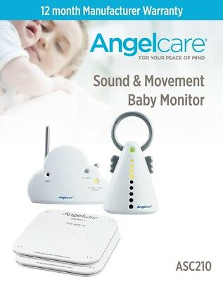 Angelcare Sound & Movement Monitor Ac201 - Refurbished