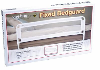 Veebee Fixed Bed Guard-White No Tools