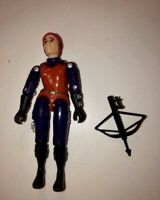 G I JOE Accessory 1997 Stars /& Stripes Scarlett V3   Power Crossbow 1982 Mold