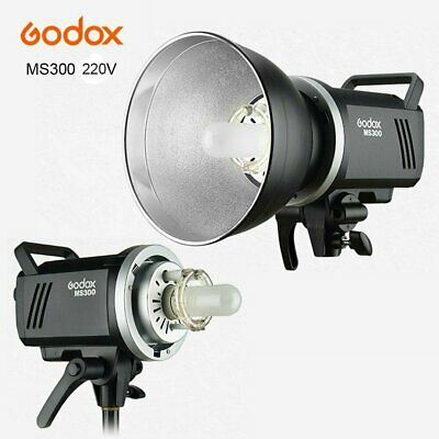 Godox MS300 300WS Studio Strobe Head Camera Flash Light Lamp Monolight F Camera