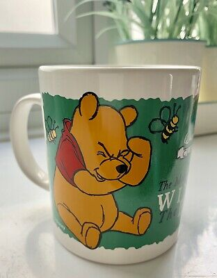 * Vintage Disney Classics Winnie the Pooh Staffordshire Tableware Mug* Adorable