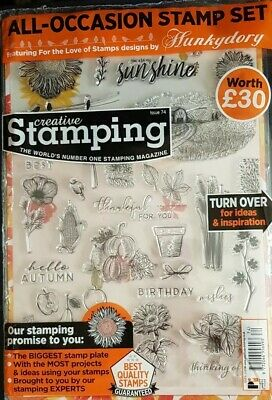 Creative Stamping Magazine - Issue 74 includes All-Occasion Stamp Set