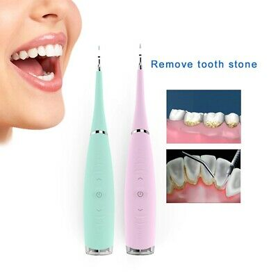 Professional Electric Dental Scaler Teeth Calculus Remover Cleaner Tartar Stains