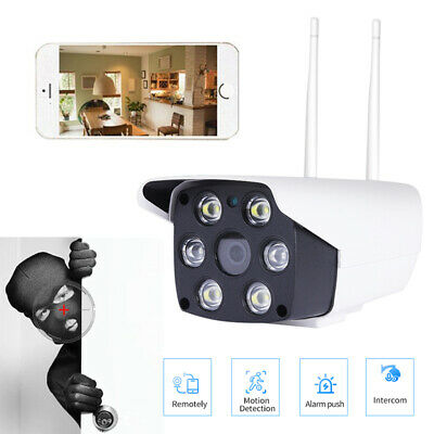 1080P Security IP Camera Video Wireless Waterproof Outdoor IR Motion Detection