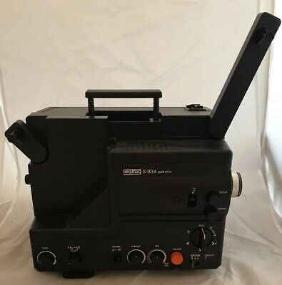 Rare Vintage Eumig S934 Automix Super 8 Cine Film Projector with Sound Recording