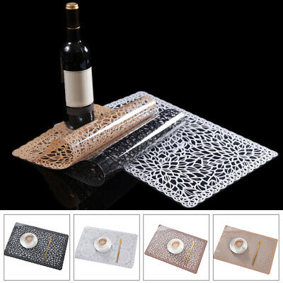 1pc Decorative Waterproof Placemat Home Wedding Hotel Kitchen Table Accessories