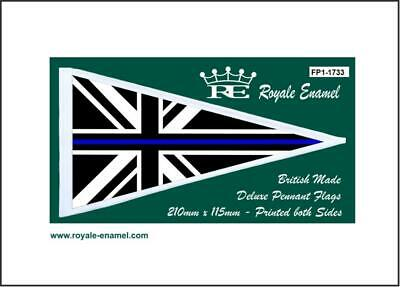 Royale Scooter Pennant Flag Thin Blue Line Union Jack - Fp1.1733