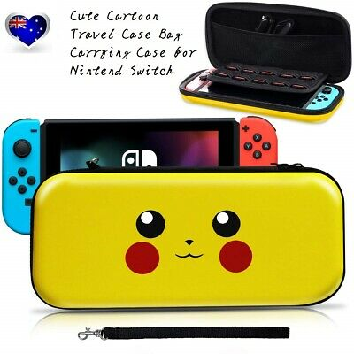 For Nintendo Switch Case Carry Cover Console Travel Bag Hard Protective Cute AU