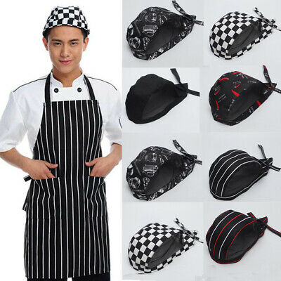 Classic Chefs Skull Cap Chef Hat Professional Catering Various Colours Chef Caps