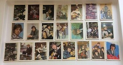 The Rolling Stones Lot Of 22 Cards A & B C Chewing Gum LTD UK