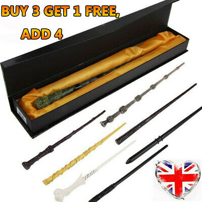 Harry Potter Magic Wand Boxed Hermione Dumbledore Voldemort Wand Cosplay Gift