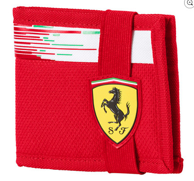 NEW Official Scuderia Ferrari F1 Wallet Formula One Puma Red Wallet