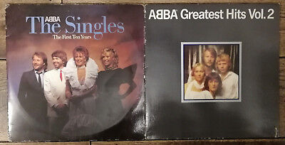ABBA 2 × Vinyl, LPs - Greatest Hits Vol. 2 (1979), The Singles (1982)