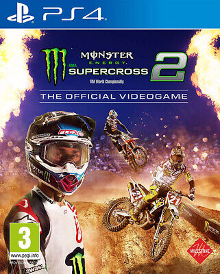 Ps4 Monster Energy Supercross - The Official Videogame 2 Eu Sony Play Station