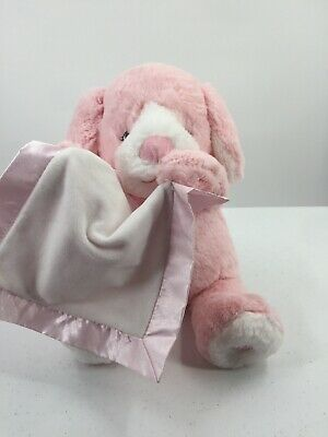 "Peek a Boo Puppy Luxe Plush Pink Animated Talks Interactive 12"" Tall Seated"
