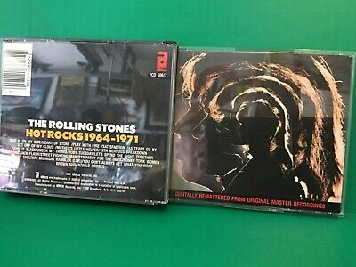 THE ROLLING STONES ( Hot Rocks 1964-1971) 2-CD set, 1986 Abkco Rec.