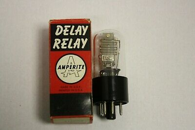 Amperite Miniature Delay Relay 26N010T New Old Stock 26NO10T