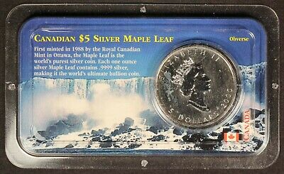 2000 Canadian $5 Silver Maple Leaf (1oz .999 Silver) - Free Shipping USA