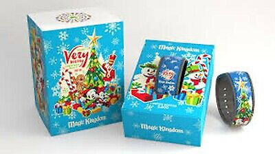 Disney Parks Mickey's Very Merry Christmas Party 2016 MagicBand LE 3000 New