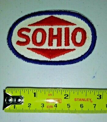 VINTAGE Embroidered Automotive Gasoline Patch UNUSED - SOHIO