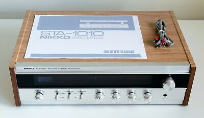 Nikko STA-1010 Vintage AM/FM Multiplex Stereo Receiver with Manual