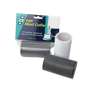 PSP mast collar tape 100mm x 1.5m black