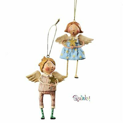 Babes in Toyland Ornaments by Lori Mitchell Set of 2