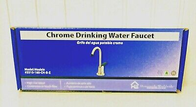 Homewerks 3310-160-CH-B-Z High Rise Single Handle Chrome Drinking Water Faucet