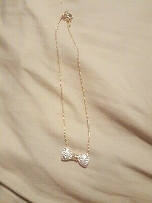 925 STERLING SILVER BUTTERFLY NECKLACE PENDANT W// .35 CT LAB DIAMONDS//18/'/'