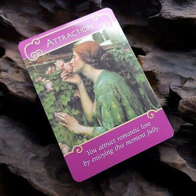 The Romance Angels Oracle Cards Tarot Guidebook Twin Flame OOP HTF Doreen Virtue