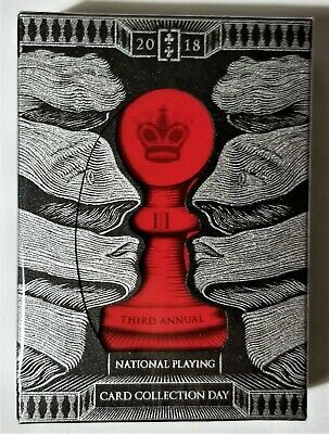 Knight NPCCD 2018 National Playing Card Collection Day Limited Gilded Deck