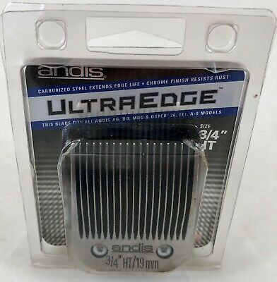 Andis Ultra Edge Clipper Blade Size 3/4 HT # 63980
