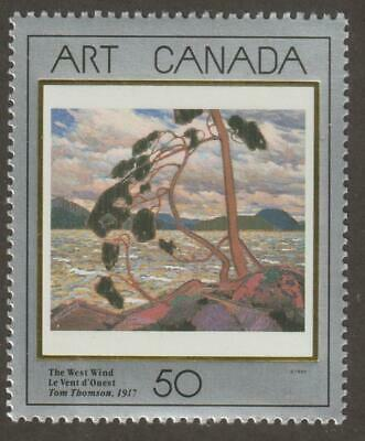 CANADA 1990 # 1271- Masterpieces of Canadian Art 3 (The West Wind) - MNH