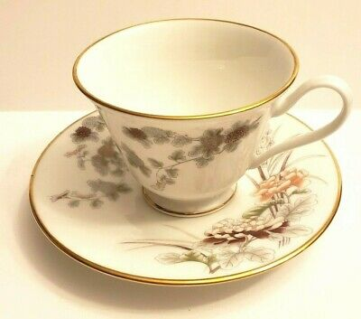 Lenox Oxford Bone China Tranquility  Tea Cup & Saucer