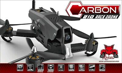 Redcat Racing Carbon 210 Race Brushless RTF RC Racing Drone w/ HD Camera Black