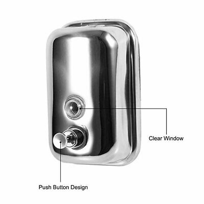 Soap Dispenser Stainless Steel Wall-Mounted Laundry Liquid Foam Soap Dispenser