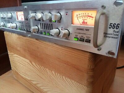 DBX 566 Stereo TUBE Compressor Dual Channel
