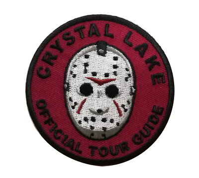 Crystal Lake Jason Official Tour Guide Badge Horror Movie Patch