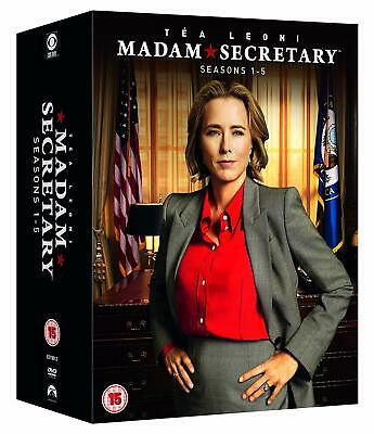 Madam Secretary Complete Season 1-5 Collection Dvd Box Set 20 Disc R4 New&Sealed