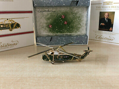 White House Historical Association Christmas Ornament 2019 (Helicopter)