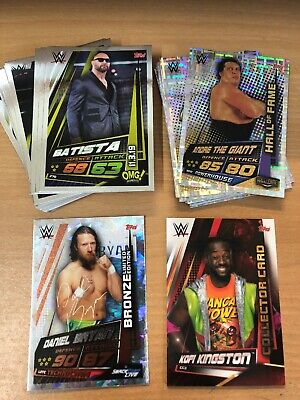 Topps WWE Slam Attax Universe OMG & Hall Of Fame Sets, Limited & Collectors