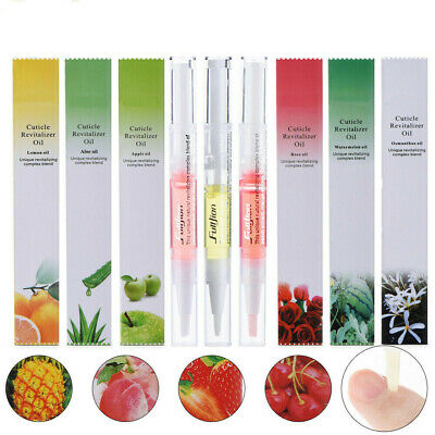 1-12Pcs Mixed Taste Cuticle Revitalizer Oil Pen Nail Care Treatment Manicure