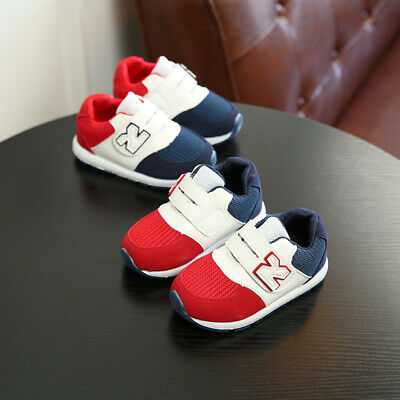 Kids Children Running Shoes Boys Girls Comfort Sport Shoes Baby Toddler Sneakers