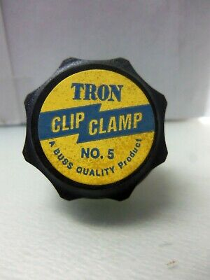 New Tron No.5 Fuse Clip Clamp 60-100 Amp 250/600 Vac