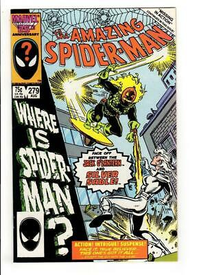 The Amazing Spider-Man #279 (Aug 1986, Marvel) SILVER SABLE NM- 9.2 HIGH GRADE