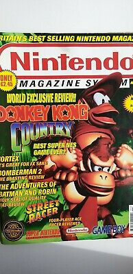 Issue Nov #26 Nintendo Magazine System with Exclusive Donkey Kong Review *RARE*