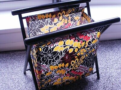 bright and colourful  sewing basket - knitting wool holder - crafts