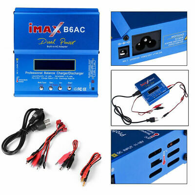 80W iMAX B6AC Multi-function Battery Digital Balance Charger AC to DC Adaptor US