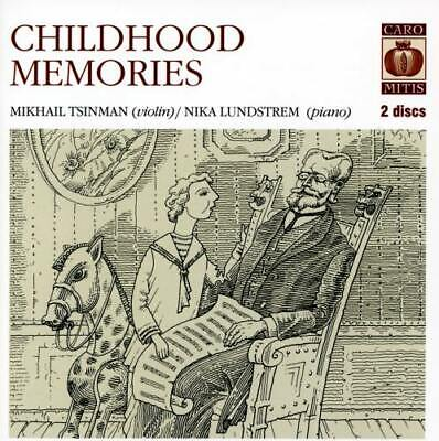 CHILDHOOD MEMORIES Works for violin and piano / Tsinman, Lundstrem (2SACD) NEW