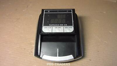 CASHCONTROL CCE 112 Recognize counterfeit money 4 sided Euro acceptance EXCL PSU